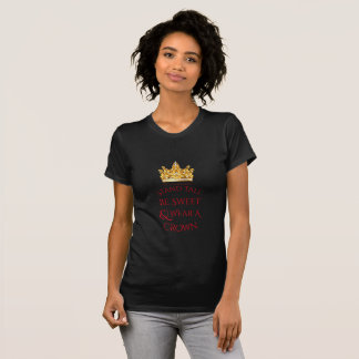 Miss America Stand Tall Pineapple Ringer Top