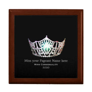 Miss America style Awards Trinket Box