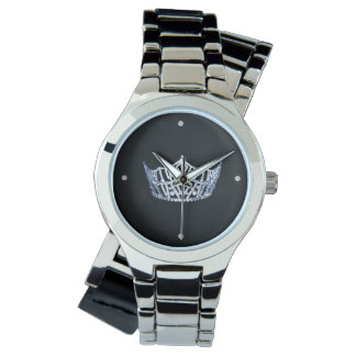 Miss America style Crown Wrap Around Watch