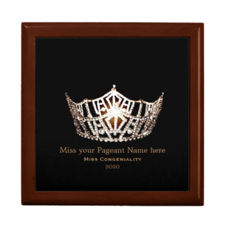 Miss America style Special Awards Trinket Box