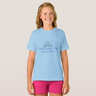 Miss America Tiara Pageant Girls Top Custom Name