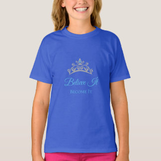 Miss America USA Girl's Believe It Big Tiara Top