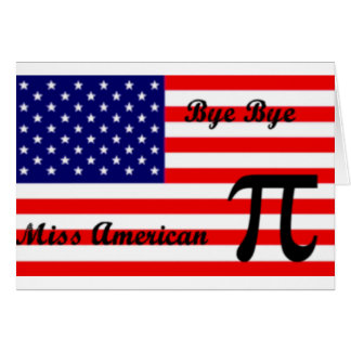 Miss American Pie Card
