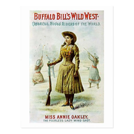 Miss Annie Oakley Post Card