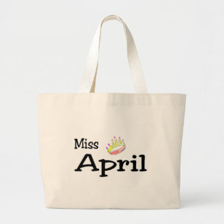 Miss April Tote Bag