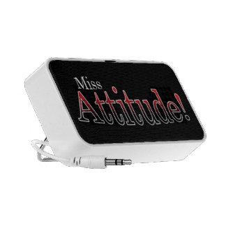 Miss Attitude Travel Speakers