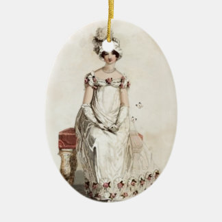 """Miss Bennet"" Christmas Ornament"