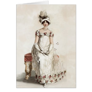 """Miss Bennet""  Happy Birthday Greeting Card"