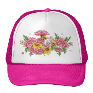 Miss Candice trucker cap (fuchsia)