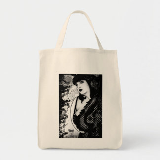 Miss Cherry Blossoms Tote Bag