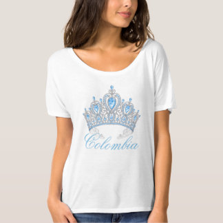 Miss Colombia America Women's Crown Top