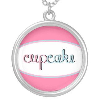 Miss Cupcake Round Pendant