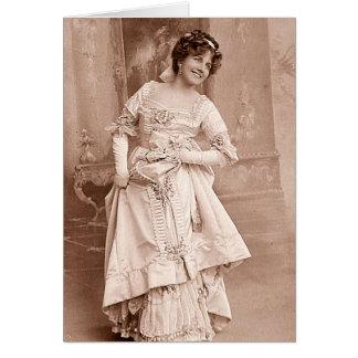 Miss Ellaline Terriss Greeting Card