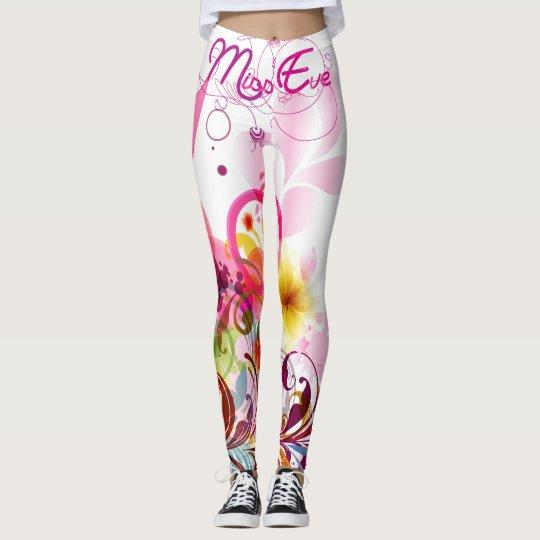 Miss Eve - Colourful Fantasy Leggings