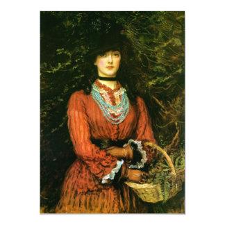 Miss Eveleen Tennant fine art 13 Cm X 18 Cm Invitation Card