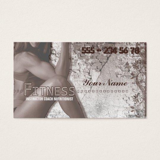Miss Fitness III - Business Card