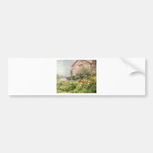 Miss Florence Griswold's Garden Bumper Stickers