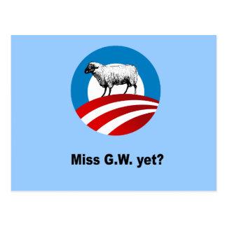 Miss G.W. yet Postcards