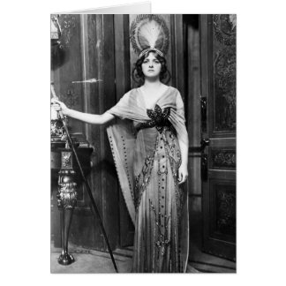 Miss Gladys Cooper [1888-1971] in Fancy Dress Greeting Card