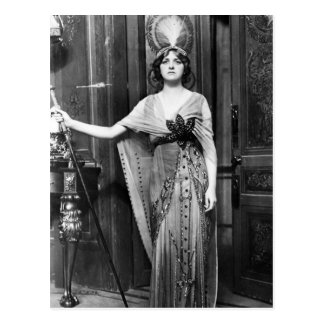 Miss Gladys Cooper [1888-1971] in Fancy Dress Postcard