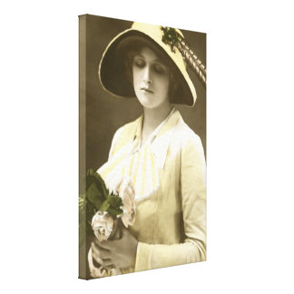 Miss Gladys Cooper [1888-1971] Stretched Canvas Prints