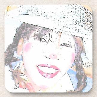 Miss Halley Luyah Luv Drink Coaster
