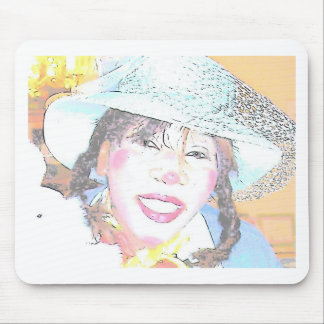 Miss Halley Luyah Luv Mousepads