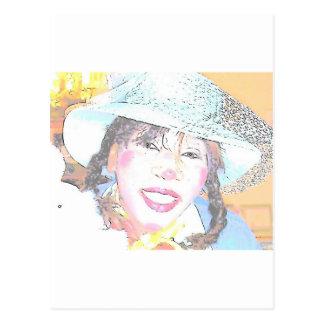 Miss Halley Luyah Luv! Postcard