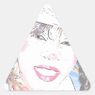 Miss Halley Luyah Luv! Triangle Sticker