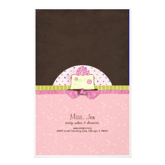 Miss. Jen Cake Candy Bar Wrappers