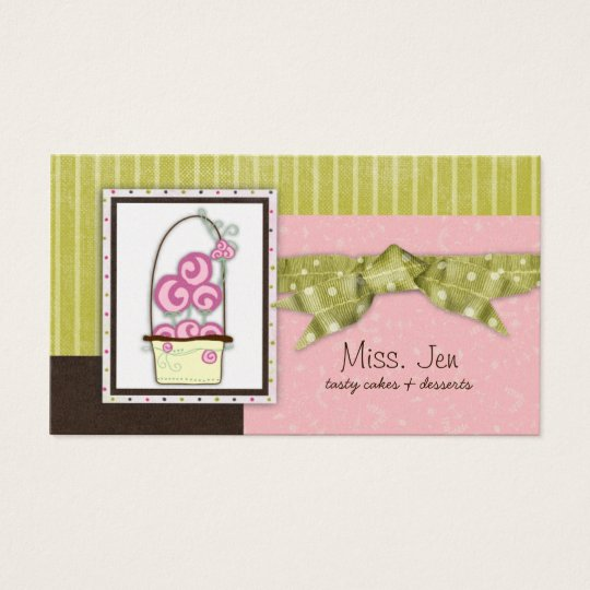 Miss. Jen Candy Business Cards