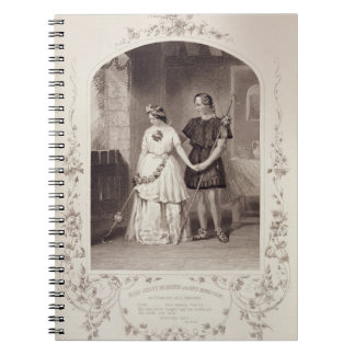 Miss Jenny Marston as Perdita and Mr F. Robinson a Notebook