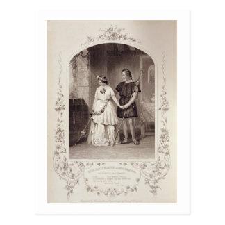 Miss Jenny Marston as Perdita and Mr F Robinson a Post Card