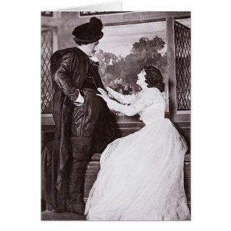 Miss Julia Neilson & Mr Fred Terry Greeting Cards