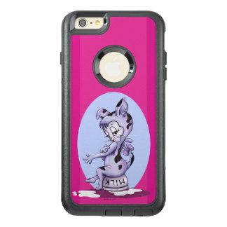 MISS KITTY CARTOON  Apple iPhone 6 Plus   CS BLACK