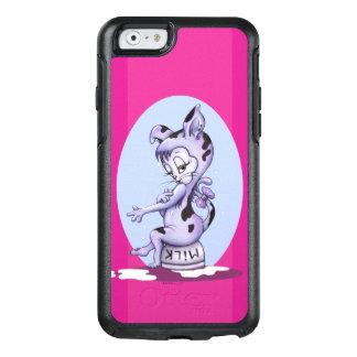 MISS KITTY CARTOON  OtterBox iPhone 6/6s  DF BLACK