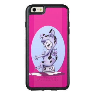 MISS KITTY CARTOON  OtterBox iPhone 6/6s + S BLACK