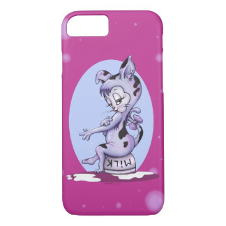 MISS KITTY CAT CARTOON  Apple iPhone 7  Barely T iPhone 8/7 Case