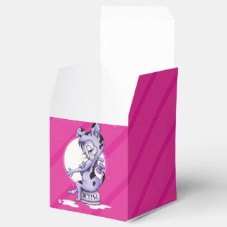 MISS KITTY CAT CARTOON  Classic 2x2 Favor Box
