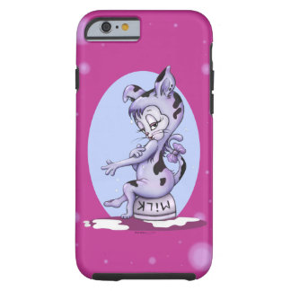 MISS KITTY CAT CARTOON  iPhone 6/6s  Tough Tough iPhone 6 Case