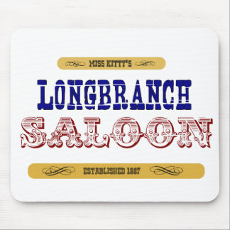 Miss Kitty's Long Branch Saloon Mouse Pad