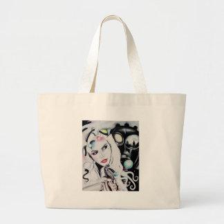 Miss Krystle Large Tote Bag