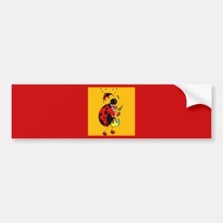 Miss Ladybug Bumper Sticker