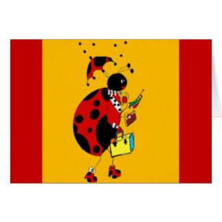 Miss Ladybug Card