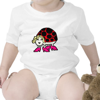 Miss Ladybug Baby Bodysuits