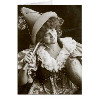 Miss Marie Studholme as Lady Madcap 1905 Greeting Card