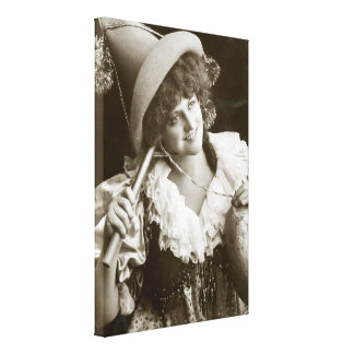 Miss Marie Studholme as Lady Madcap 1905 Stretched Canvas Print