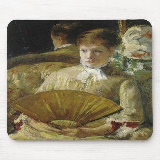 Miss Mary Ellison, Mary Cassatt Mousepad