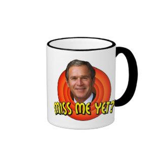 Miss Me Yet? George W Bush Coffee Mug