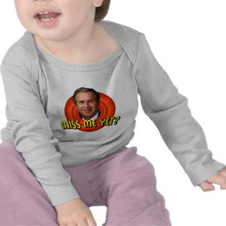 Miss Me Yet? George W Bush Infant Long Sleeve T-shirts